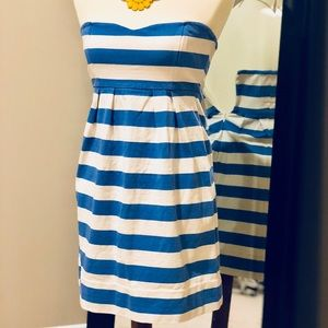 GUC J Crew Nautical Stripe Dress